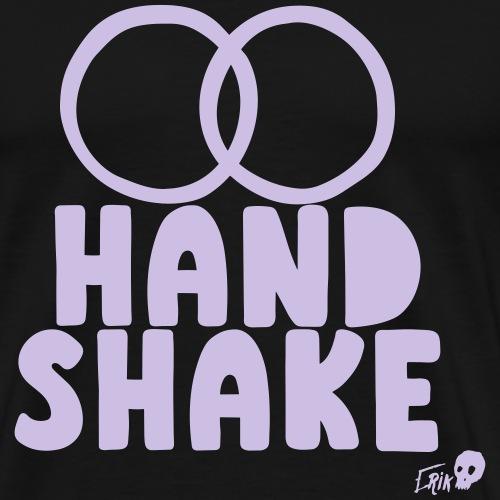 HAND SHAKE - Men's Premium T-Shirt