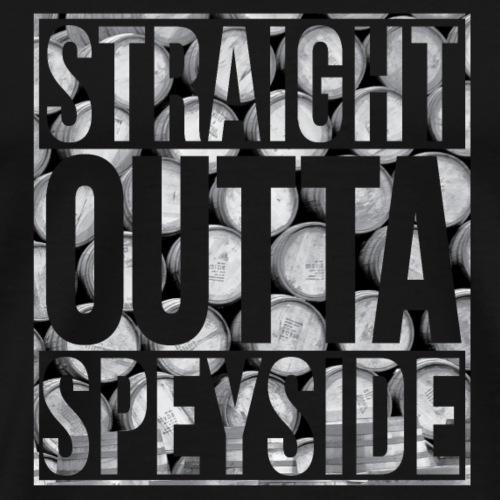 Straight Outta Speyside - Men's Premium T-Shirt