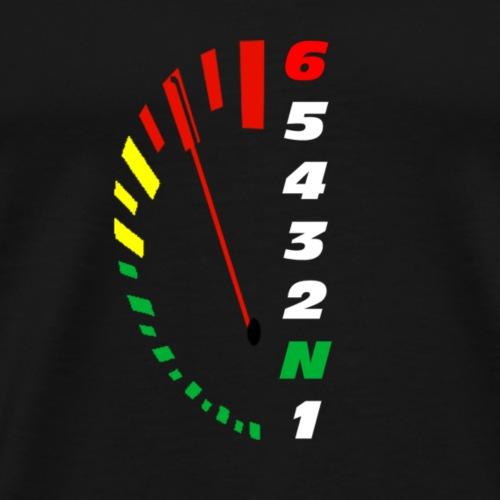 zone rouge - T-shirt Premium Homme