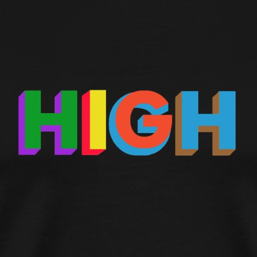 HIGH - T-shirt Premium Homme