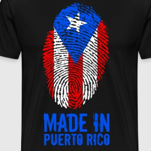 Made In Puerto Rico - Mannen Premium T-shirt