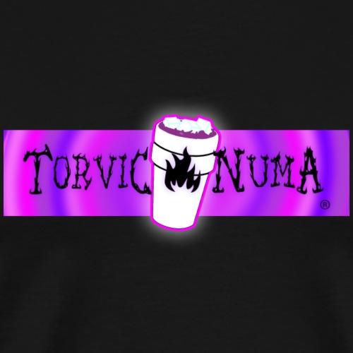 Torvic X Numa Raspberry Banner - T-shirt Premium Homme