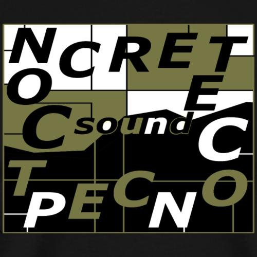 CONCRETE SOUND CONCEPT - T-shirt Premium Homme