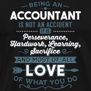 Love what you do - Accountant - Männer Premium T-Shirt