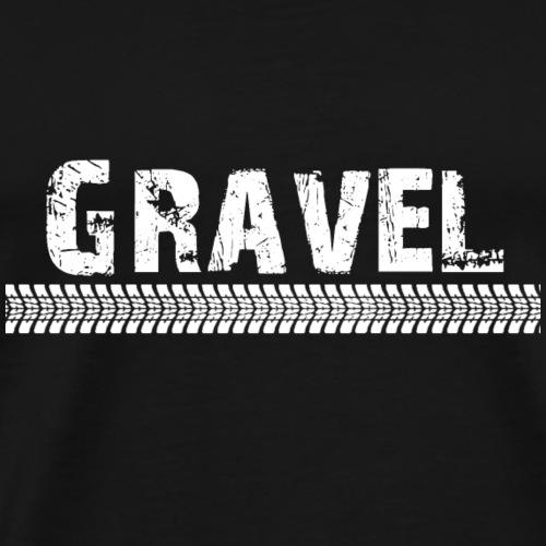 Gravel Track - T-shirt Premium Homme