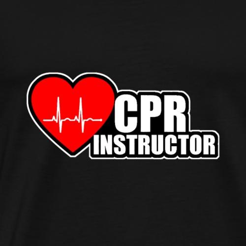 cpr instructor - Männer Premium T-Shirt