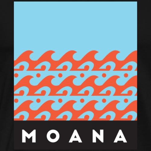 Blue Moana - Spirit of the Sea by Te-Moana - Männer Premium T-Shirt