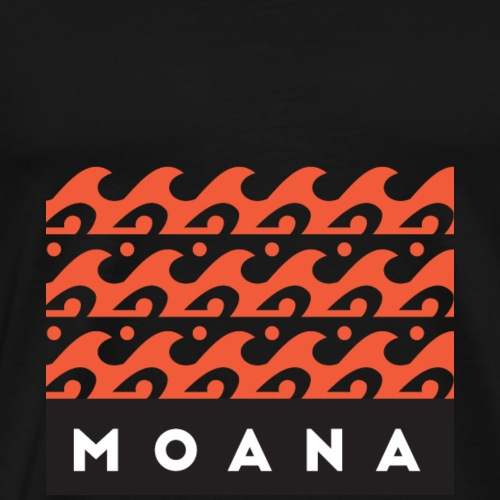 Moana means Spirit of the Ocean by Te-Moana - Männer Premium T-Shirt