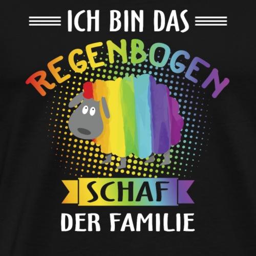 Regenbogen Schaf - LGBT Shirt - Männer Premium T-Shirt