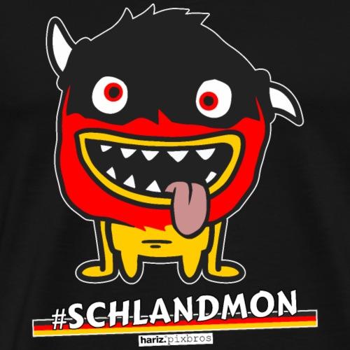 HARIZ.PIXBROS #Schlandmon - Männer Premium T-Shirt