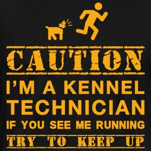 Attention Kennel Technicien - T-shirt Premium Homme