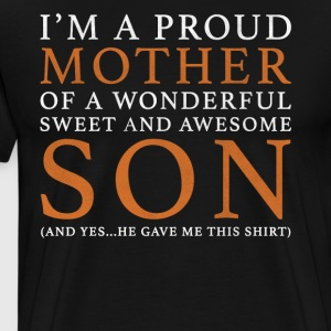 Original Gift For A Mother: Order Here - Men's Premium T-Shirt