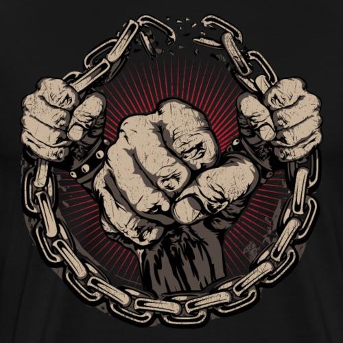 fighting - Men's Premium T-Shirt