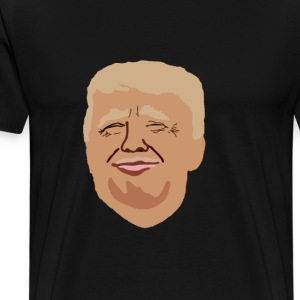 Donal Trump America first - Men's Premium T-Shirt