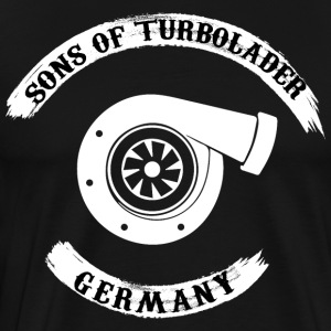 Sons of turbolader - Tyskland - Herre premium T-shirt