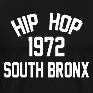 Hip Hop South Bronx 1972 - Premium T-skjorte for menn