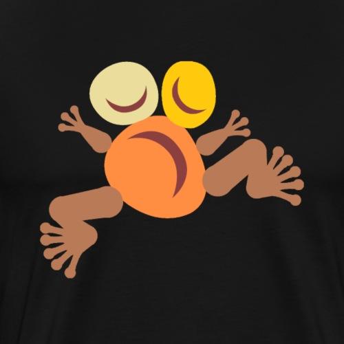 Frog Yellow Totem - T-shirt Premium Homme