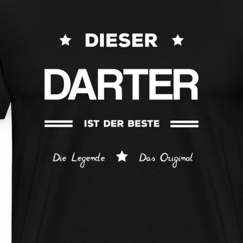 Bester Darter von allen. - Männer Premium T-Shirt