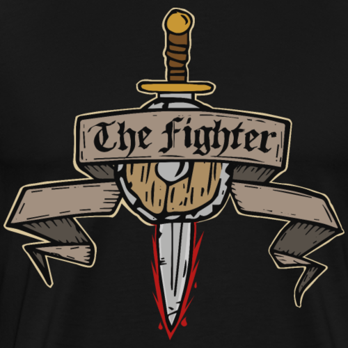 The Fighter - Men's Premium T-Shirt