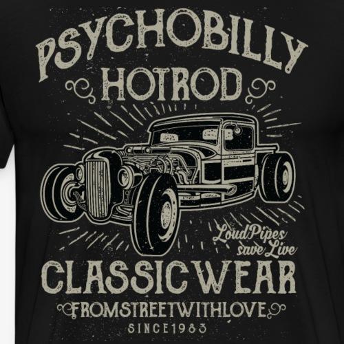 Psychobilly Hotrod - Männer Premium T-Shirt