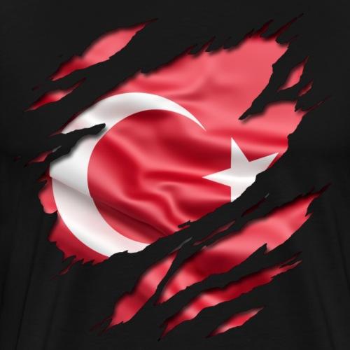 Die Türkei unter Deiner Haut - Männer Premium T-Shirt