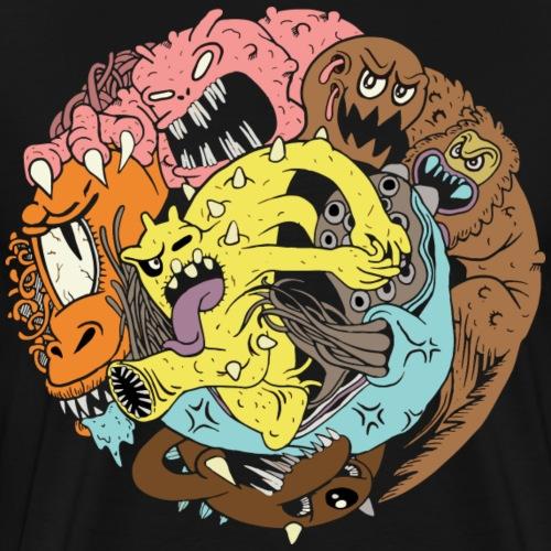 Monster Club - T-shirt Premium Homme