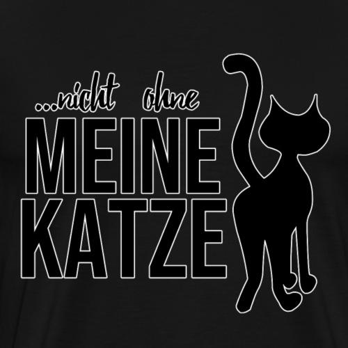 Katze - Männer Premium T-Shirt