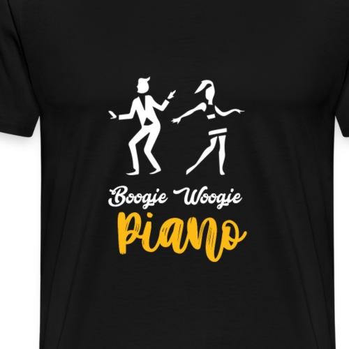 Spreadshirt WoogieBoogie1 Schwarz - Männer Premium T-Shirt