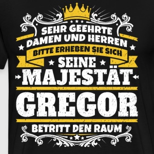His Majesty Gregor - Men's Premium T-Shirt