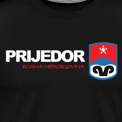 Grad Prijedor - Männer Premium T-Shirt