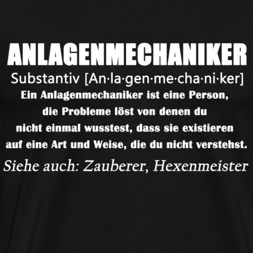 Anlagenmechaniker - SHK Definition - Männer Premium T-Shirt