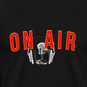 on air fm Radio - Männer Premium T-Shirt