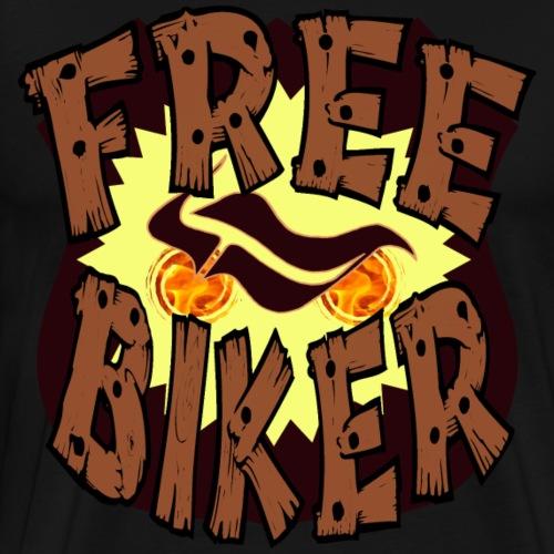 Free Biker - Männer Premium T-Shirt