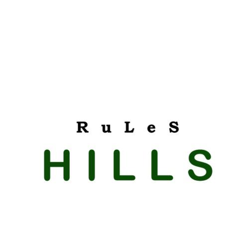 Fichtelhills rules - Männer Premium T-Shirt