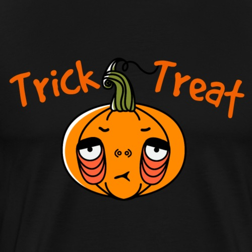 Trick or Treat Jack Pumpkinhead T-Shirt - Men's Premium T-Shirt