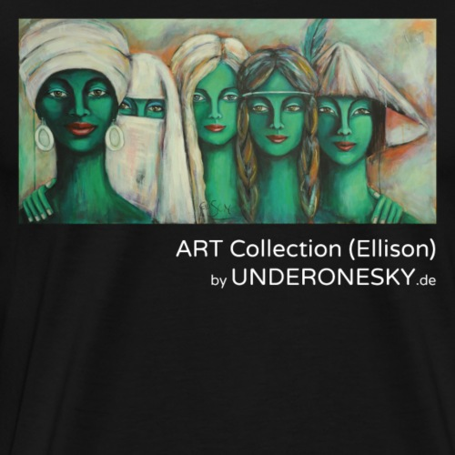 UNDER ONE SKY – Art Collection (Ellison) - Männer Premium T-Shirt