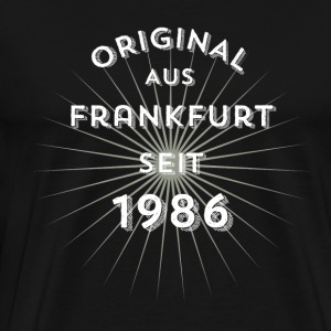 Original from Frankfurt since 1986 - Men's Premium T-Shirt