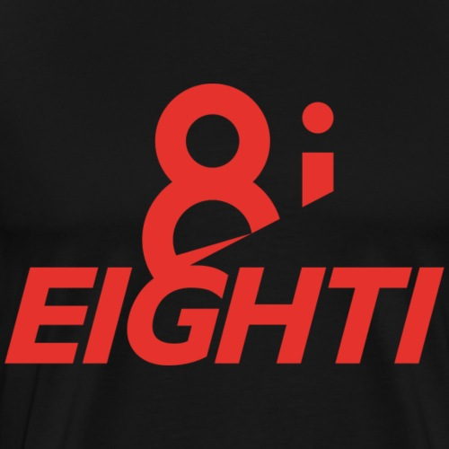 8i EIGHTI Logo - Männer Premium T-Shirt