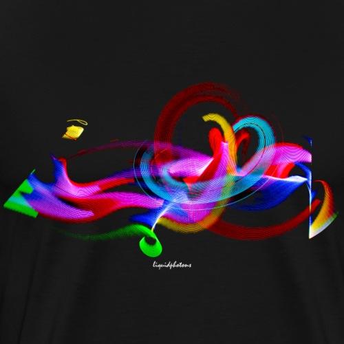 Photon Graffiti 2 - Männer Premium T-Shirt