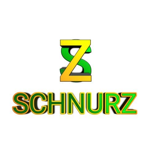 SCHNURZ (Schrift & Logo) - Männer Premium T-Shirt