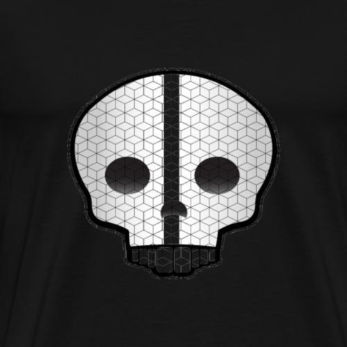 Skull design for club and dance wear - Men's Premium T-Shirt