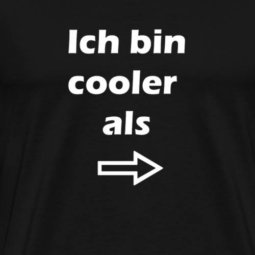 Cool Story Spruch - Männer Premium T-Shirt