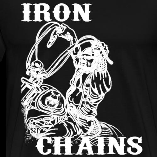 Iron Rider White - Männer Premium T-Shirt