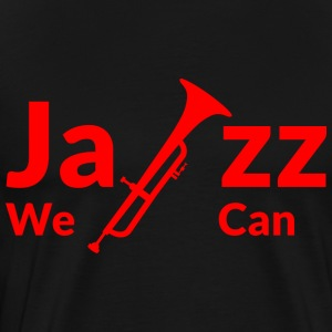 JAZZ WE CAN - red - Men's Premium T-Shirt