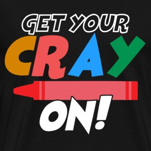 Get Your Crayon - Men's Premium T-Shirt