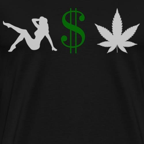 Frauen Geld und Gras - Männer Premium T-Shirt