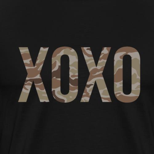 XOXO camouflage - Männer Premium T-Shirt