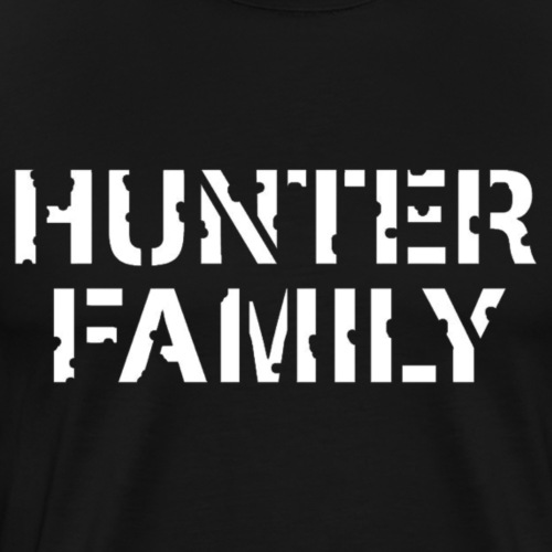 The Hunter Family Original Logo - Men's Premium T-Shirt