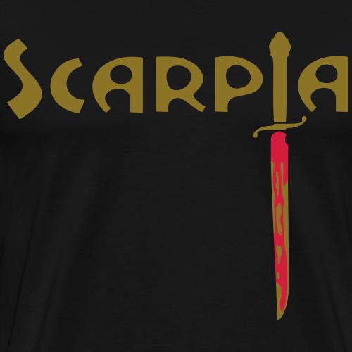 Tosca: «Va, Tosca! Nel tuo cor s'annida Scarpia!» - Maglietta Premium da uomo