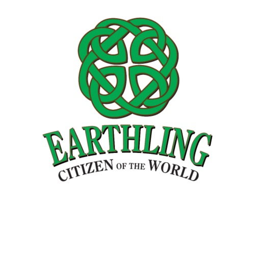 Earthling - Citizen of the World - Premium-T-shirt herr